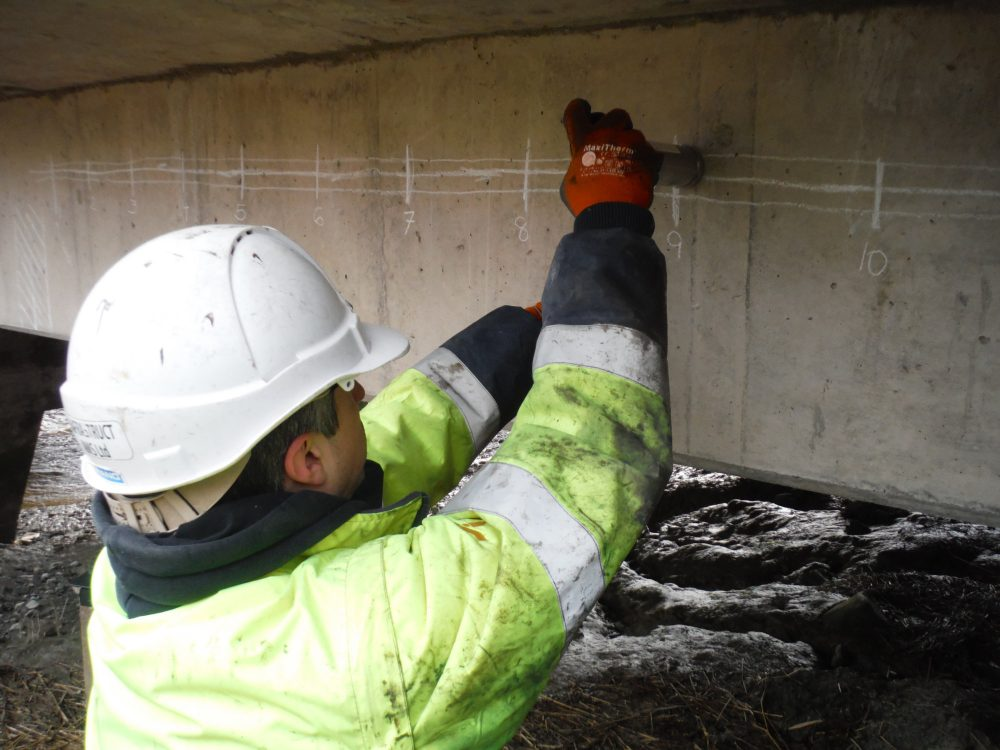 Post-Tensioning Special Inspection on 3 Span Bridge