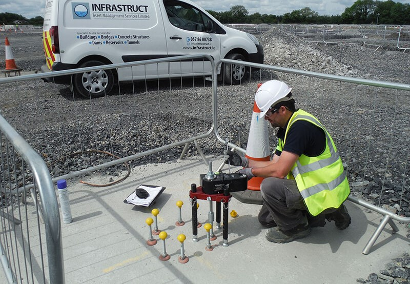 Anchor & Fixings Testing Services - Infrastruct