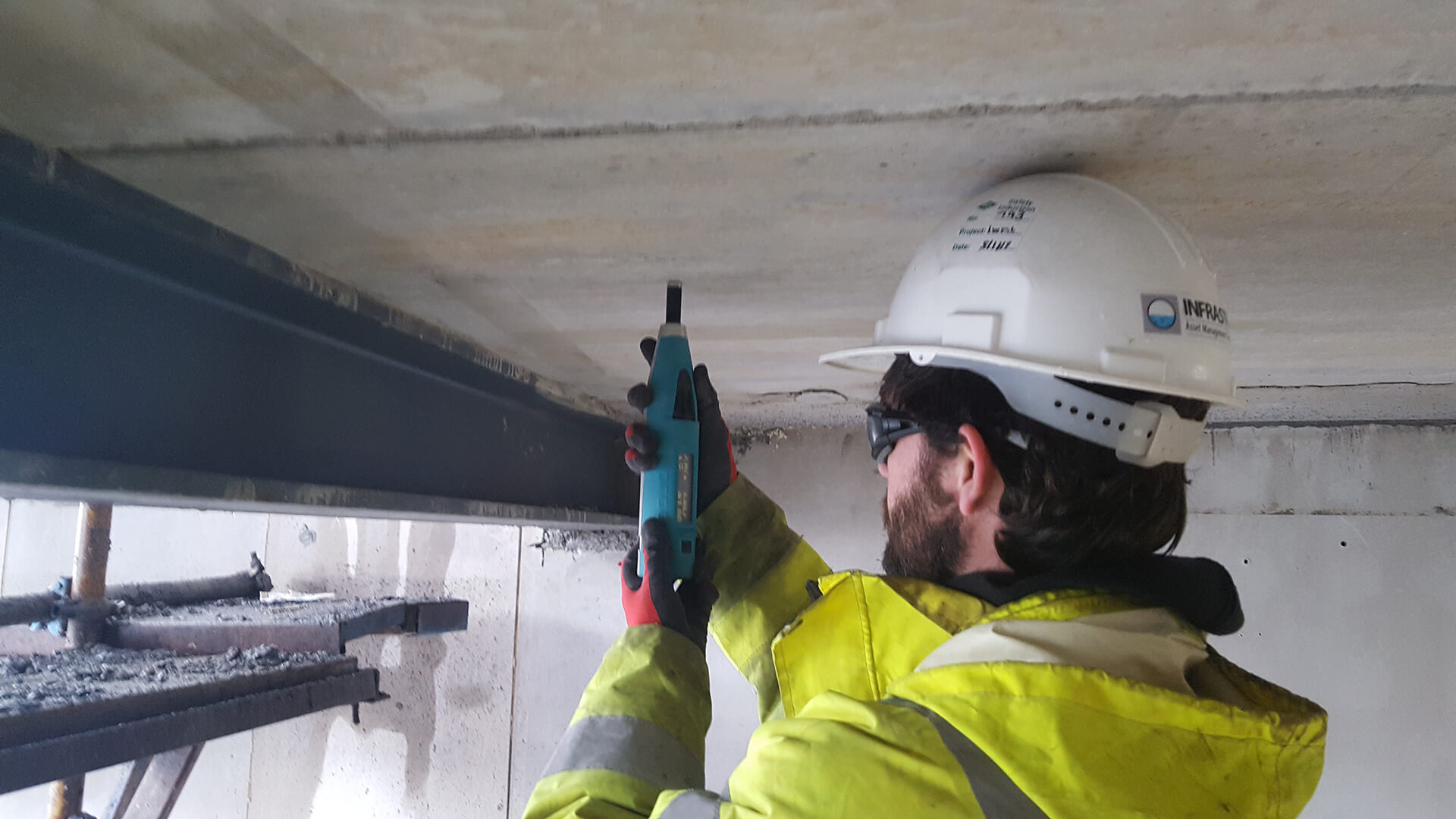 Rebound hammer surveys for in-situ strength of concrete - Infrastruct