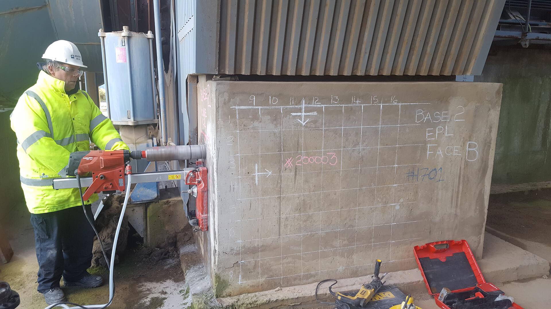 Concrete Strength Testing Service - Infrastruct