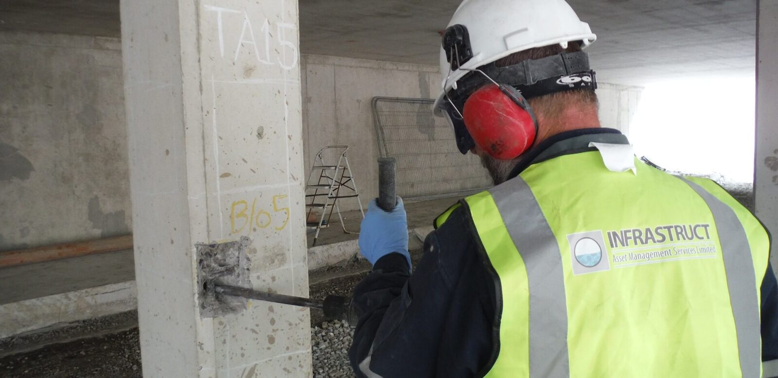 Concrete Testing Service - Infrastruct