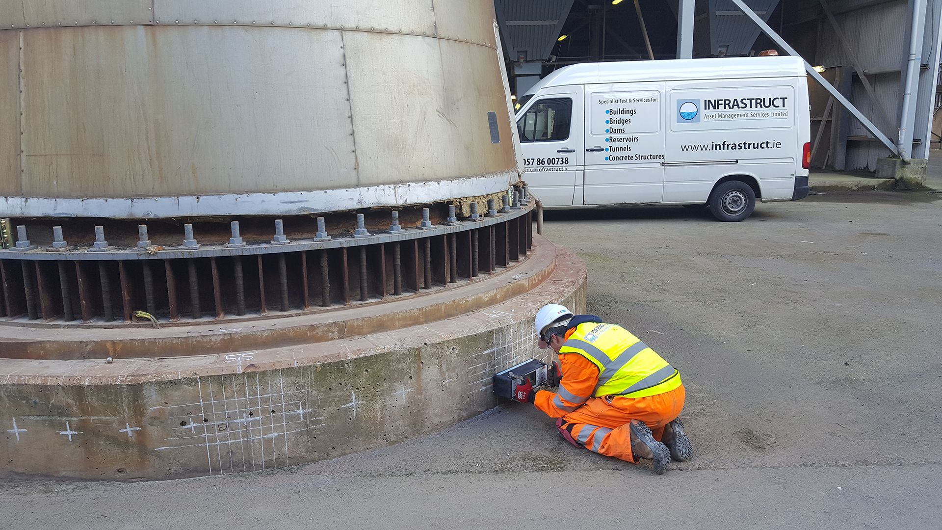 Structural Testing Service - Infrastruct