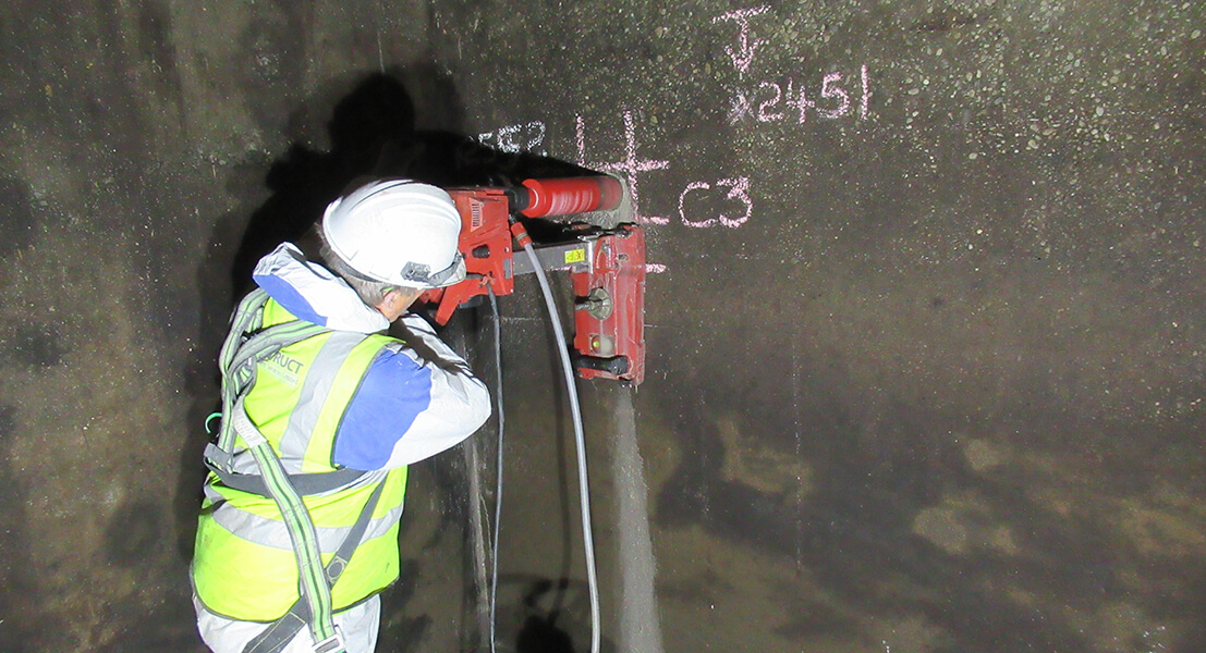 Concrete Strength Testing Service - Infrastruct