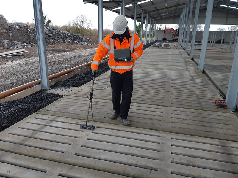 Reinforcement Scanning On Concrete Slats & Slabs
