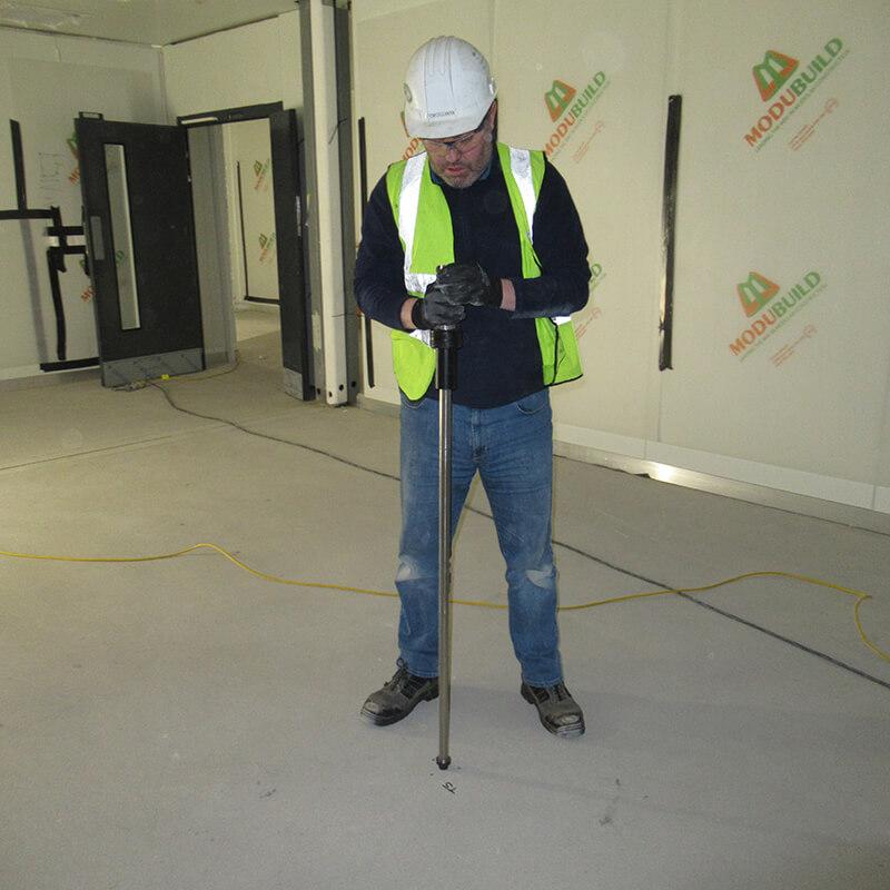BRE Screed Testing On Floors