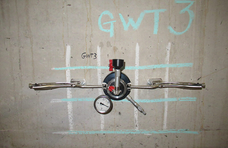 Permeability Testing On Underground Concrete Tanks