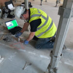 Impact EchoTesting on Existing Concrete Floors