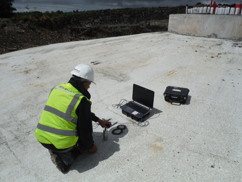 Impact Echo Testing - Infrastruct Structural Testing Services for Construction