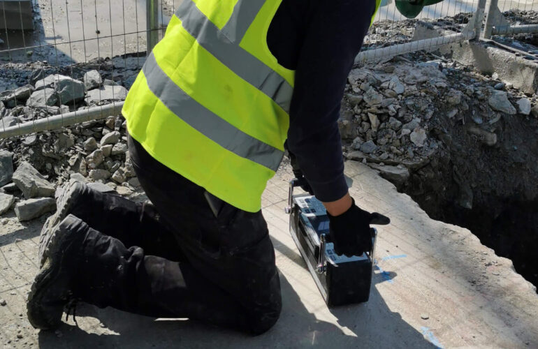 Concrete Quality Testing on Pad Foundations